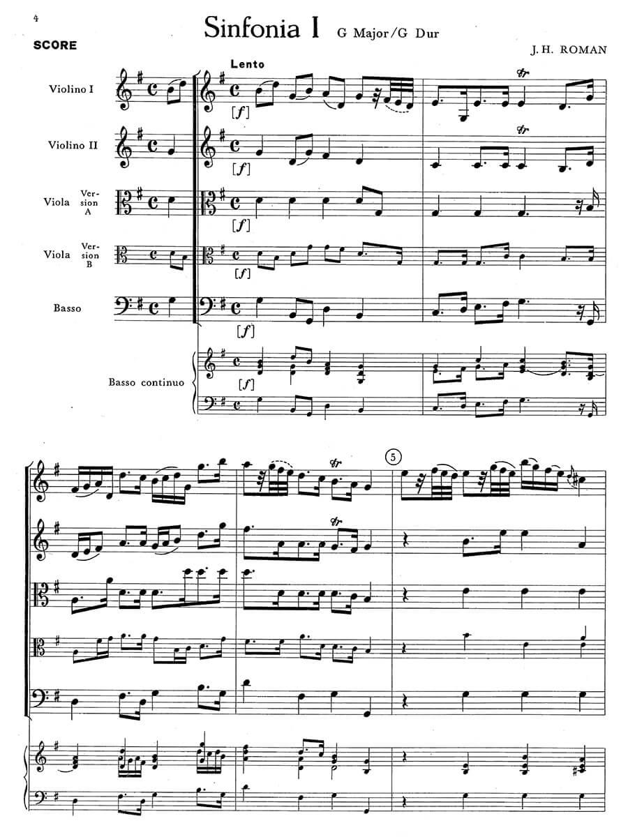 Roman - Three Symphonies