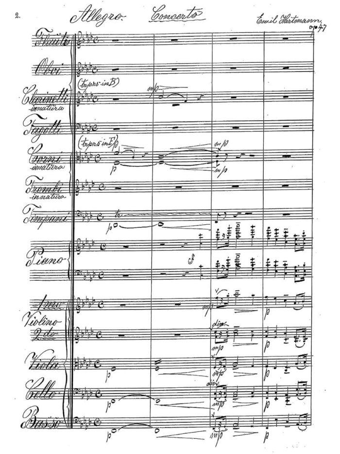 Hartmann - Concerto pour Piano et Orchestre