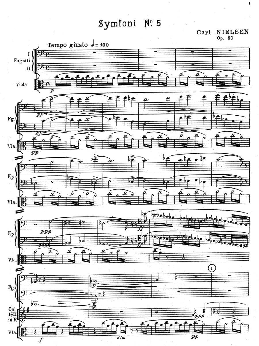 Nielsen - Symfoni Nr. 5
