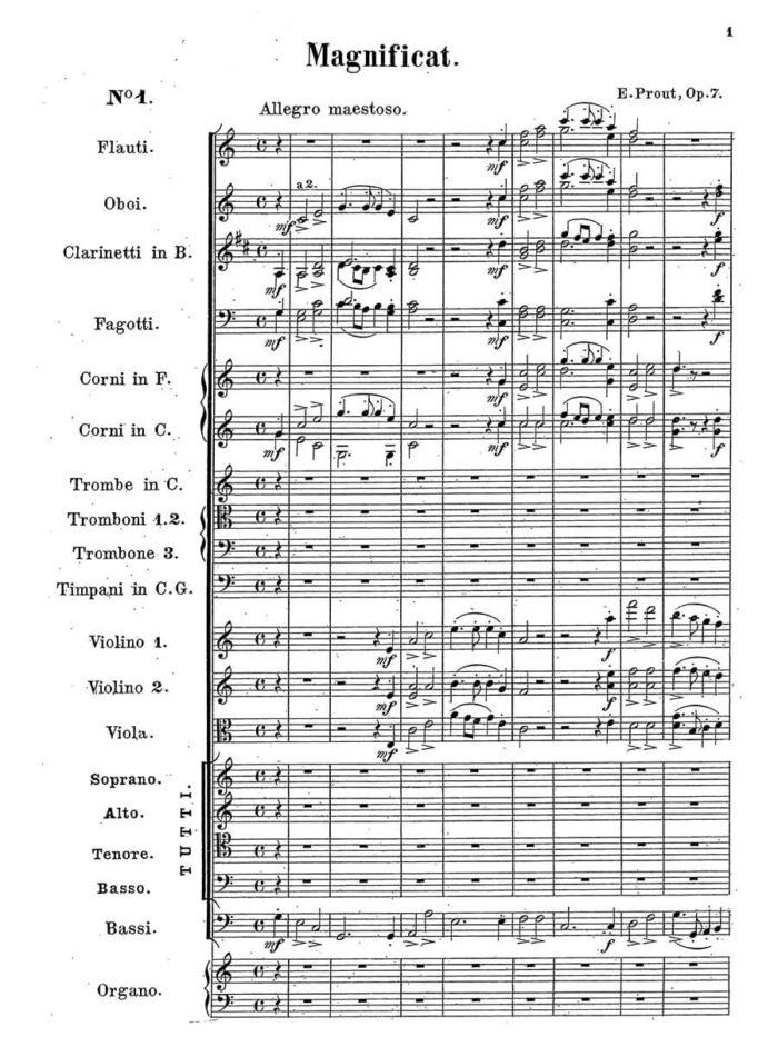 Prout - Magnificat Op. 7